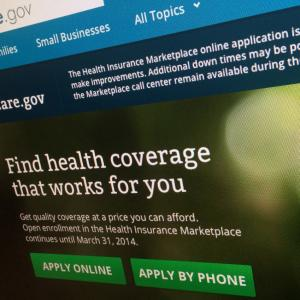 Added Protections for Consumer Information on Health Website