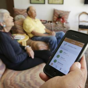 High-Tech Sensors Help Kids Keep Eye On Aging Parents