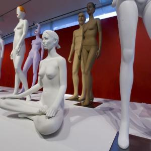 Mannequins By Designer Ralph Pucci Fill Nyc Exhibition