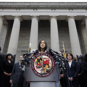 6 Baltimore Officers Charged In Freddie Gray's Death