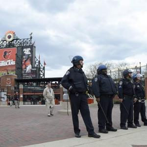 Right Call? Orioles Take The Field In Riot-Torn Baltimore