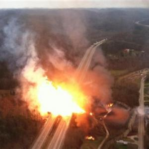 Oil Train With Safety Upgrades Derails And Explodes In W.Va.