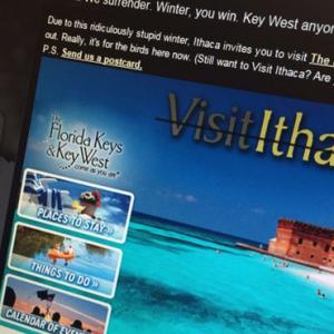 NY Tourism Site That Urged Visitors To Go To Florida Crashes