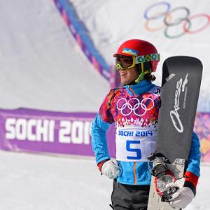 Kosir Wins Snowboard World Cup to Take Overall Lead
