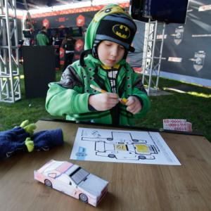 NASCAR Effort Focuses on Math, Science For Kids