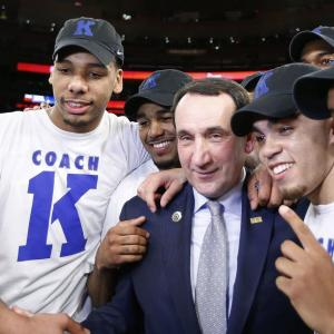 Coach K Gets 1,000th Win as No. 5 Duke Tops St. John's 77-68
