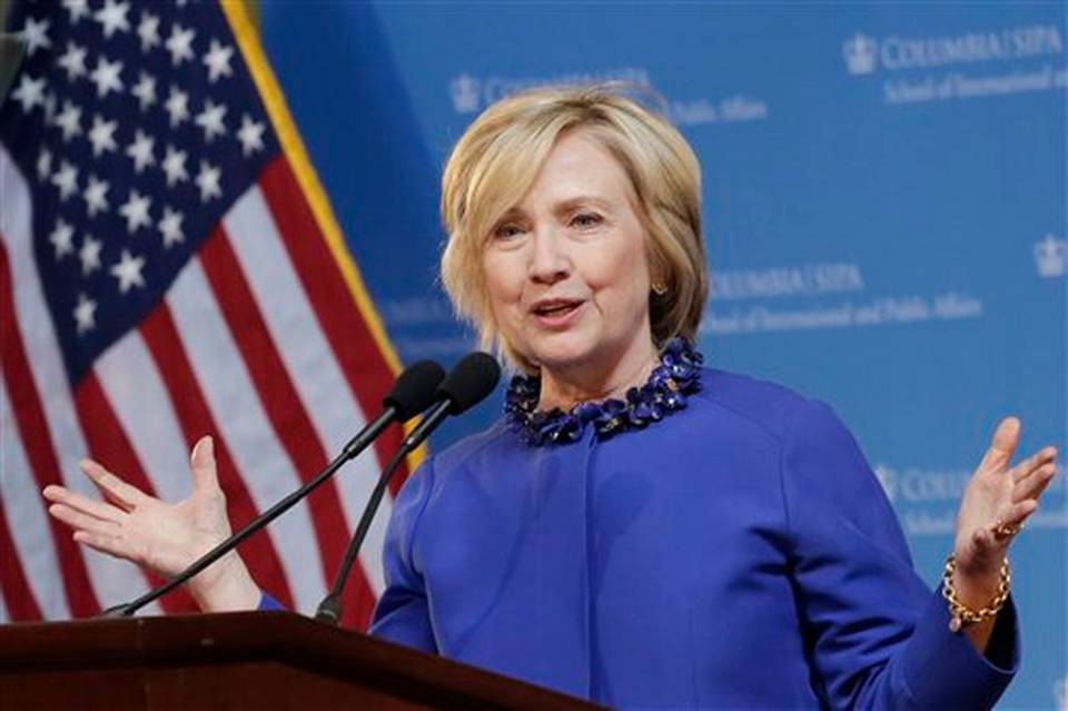 clinton to call forfull and equal pa