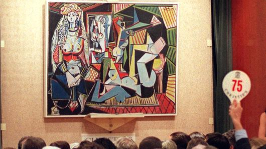 picasso valued at 140m heading to nyc