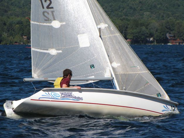 sailing for novices often begins with