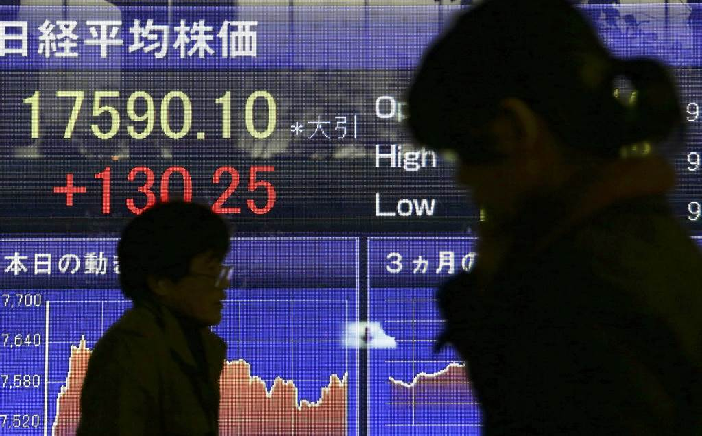 world stock markets uneven as weak dat